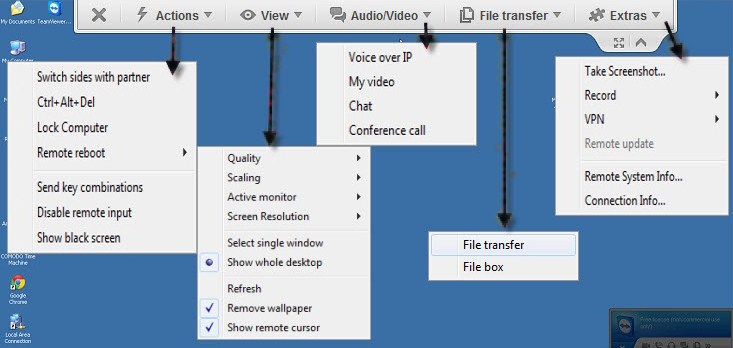 Client-Computer-On-TeamViewer-dhanushkablog