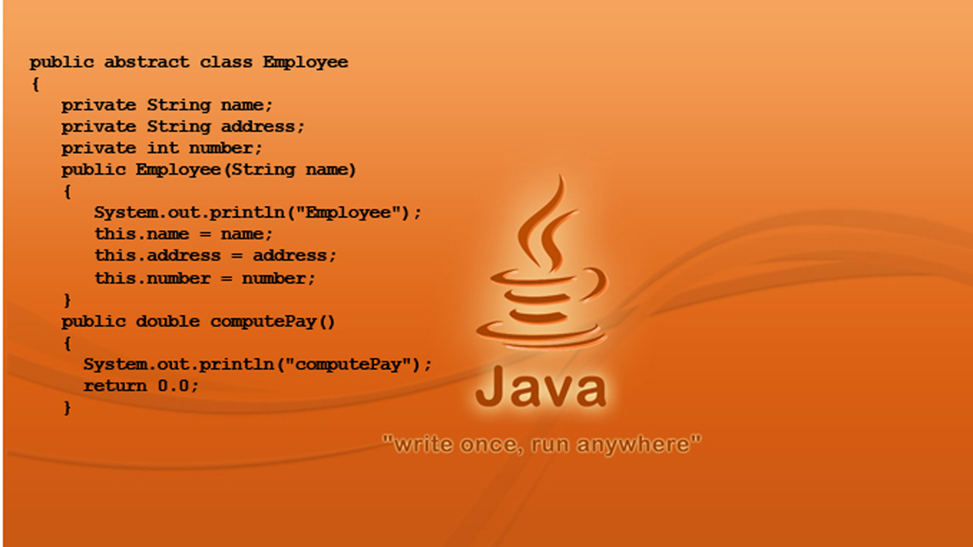 Java ඉගෙනගන්න – 4 – class, method, variable