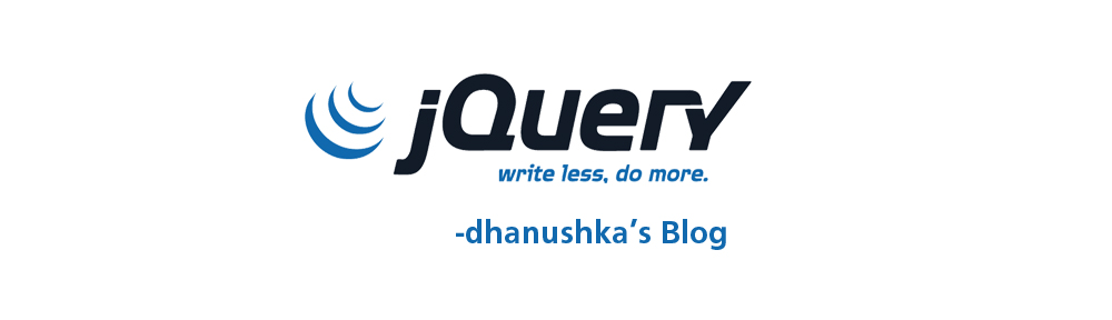 JQuery සිංහලෙන් – 2